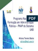 19out - Adriana Bastos - Formacao de Gestores Publicos e EAD