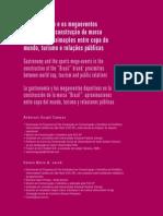 A Gastronomia e Os Megaeventos, A Marca Brasil
