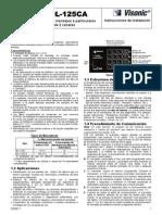 Dialer DL125C DL125CA Spanish Installer Guide DS58171