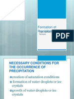Formation of Precipitation
