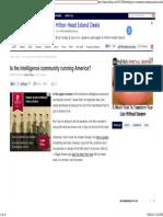 Is the Intelligence Community Running America?