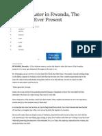 Rwanda Articles