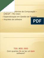 TDD, BDD e DDD - Práticas de Desenvolvimento