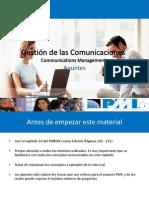 Presentacion - Gestion de Las Comunicaciones Del Proyecto - Fourth Edition