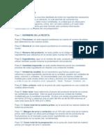 explicacionrecetaestandar-090901083456-phpapp01