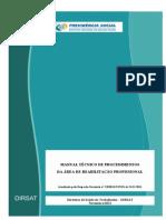 Manual Reabilitação Profissional Nov 2011