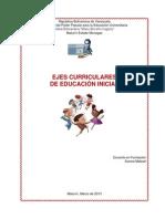Ejes Integradores de Educacion Inicial