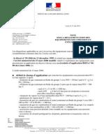Synthese de La Reglementation ESP en Exploitation DREAL Mai 2011