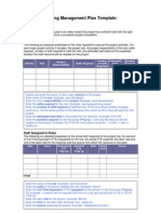 Staffing Management Plan Template PDF