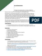 Biomechatronics syllabus.