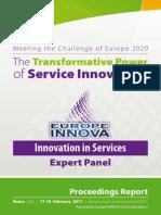 EU ServiceInnovation Rome2011 Proceedings Report