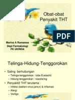Obat-Obat Penyakit THT