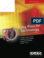 Leader PPV Positive Pressure Ventilation Fan
