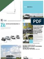 KangooVanZE Brochure