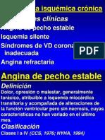 Cardiopatia Isquemica Cronica