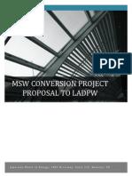 AWE Waste Conversion Proposal to LADPW
