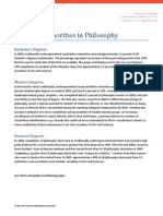 Minorities in Philosophy from the APA
