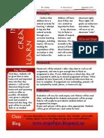 September 2013 Newsletter part 2