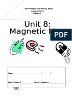 Unit 8- Magnetic Max Learning Sheets