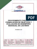Procedimiento Formulacion Obj Ind 2013