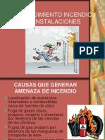 Procedimiento Incendio en Instalaciones