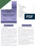 Adelanto Informe Macroeconómico 23
