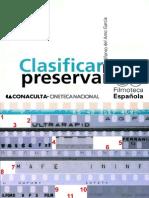 ClasificarParaPreservar Filmoteca ES