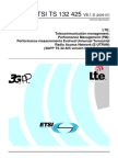 3GPP - LTE Performance Management