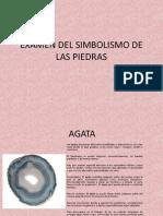 Examen Del Simbolismo de Las Piedras