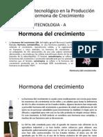 Proceso Biotecnológico en la Producción de la Hormona de crecimiento