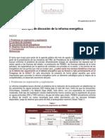 Ejes de la Reforma Enegética 1209_2013