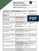 French b Scheme of Work 3