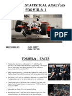 MSE 601A Statistical analysis Formula 1