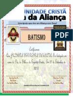 Certificado Juliana Ferreira