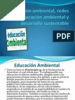 Educación ambiental, redes de educación ambiental y
