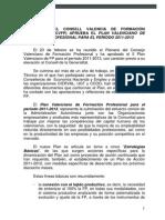 Plan valenciano Formación Profesional