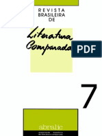 Revista Brasileira de Literatura Comparada - 07