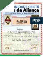 Certificado Valdelicia Rodrigues