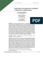 Analisis de La Practica Deportiva
