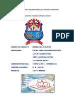 Esquema de Proyecto Informatico Moreno