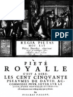 Vallet • Regia Pietas