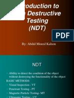 Non Destructive Testing