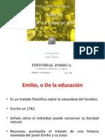 Emilio o de La Educacion