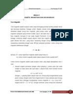 Modul 9 Torsi Magnetik Magnetisasi Dan Hukum Induksi