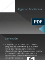Algebra Booleana
