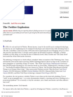 The Twitter Explosion