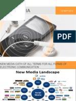 New Media Presentation