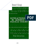 Interactions Modern Particle Theory
