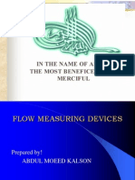 Flow Measuring Devices