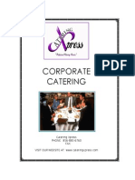 Corp Catering Pack